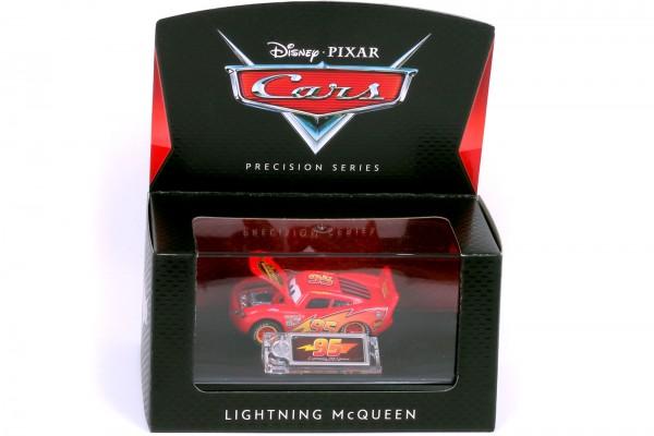 Mattel - Disney Pixar Cars - Precision Series – Lightning McQueen Diecast Fahrzeug - Maßstab 1:64