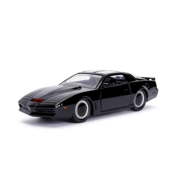 Jada Hollywood Rides - Diecast Modellauto - KITT aus Knightrider - Maßstab 1:32 - schwarz