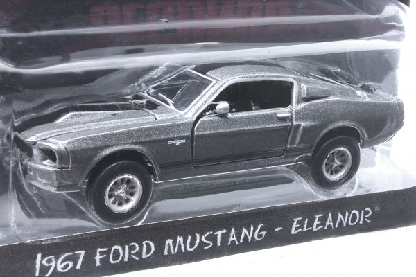 Greenlight 1:64 1967 Ford Mustang Shelby GT500 'Eleanor' Nur 60 Sekunden