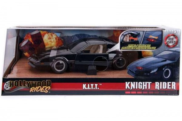 Knight Rider KITT 1982 Pontiac Firebird Modellauto 1:24 K.I.T.T.