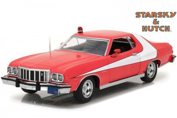 Greenlight Collectibles – Diecast Modellauto: 1976 Ford Gran Torino aus Starsky & Hutch, Maßstab 1:2