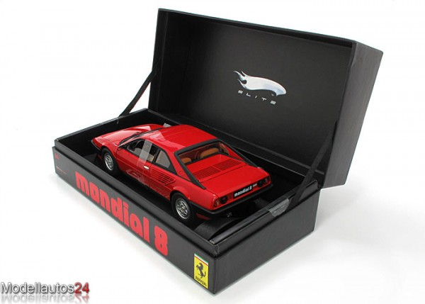 Hot Wheels Super Elite - Diecast Modellauto - Ferrari Mondial 8 - Maßstab 1:18