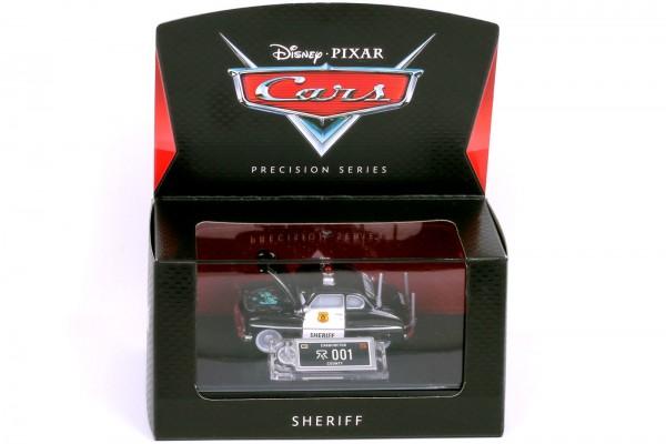 Mattel - Disney Pixar Cars - Precision Series – Sheriff Diecast Fahrzeug - Maßstab 1:64