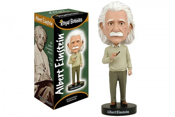 Royal Bobbles Albert Einstein Wackelkopffigur