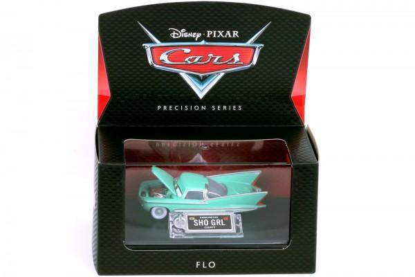 Mattel - Disney Pixar Cars - Precision Series - Flo Diecast Fahrzeug - Maßstab 1:64
