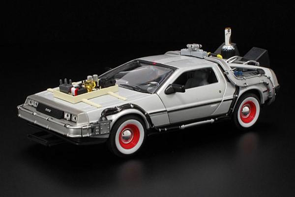 Welly 1:24 Back to the Future 3 DeLorean Zurück in die Zukunft III