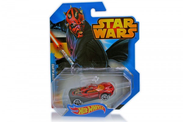 Hot Wheels – Diecast Spiel- und Sammelauto namens Darth Maul aus Star Wars, im Maßstab 1:64