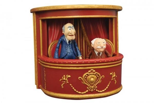 Muppets Show Statler und Waldorf Figuren mit Balkon