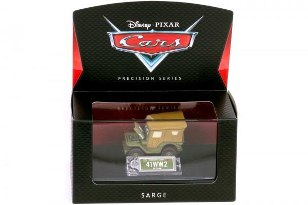 Mattel - Disney Pixar Cars - Precision Series - Sarge Diecast Fahrzeug - Maßstab 1:64