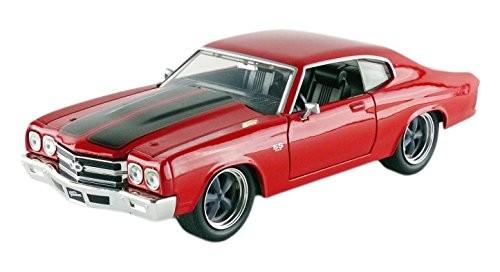 Jada Toys Diecast Modellauto - Doms Chevrolet Chevelle SS aus dem Film Fast & Furious, Maßstab 1:24